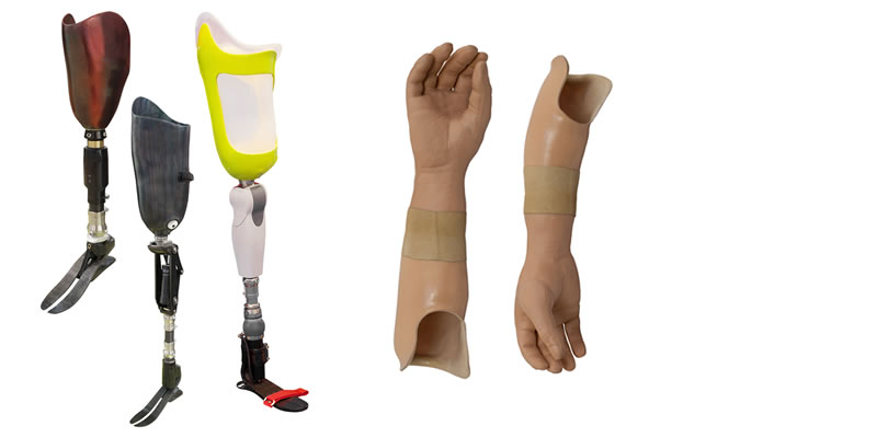 Prosthetic Fabrication Services by Motion Unlimited